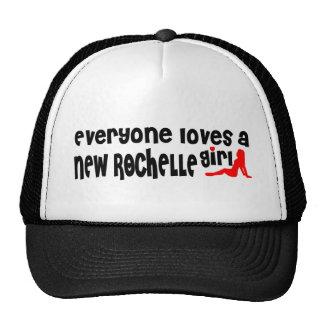 Everyone loves a New Rochelle girl Trucker Hat