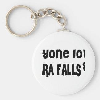 Everyone loves a Niagara Falls girl Basic Round Button Keychain