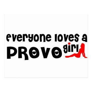 Everyone loves a Provo girl Postcard