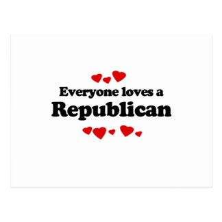 Everyone loves a Republican Postcard