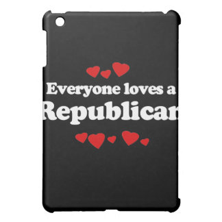 Everyone loves a Republican (white) iPad Mini Covers