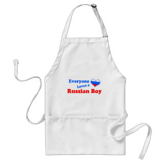 Everyone loves a Russian boy! Adult Apron