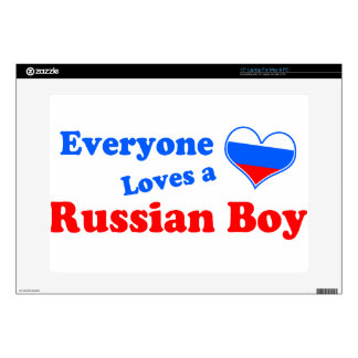 Everyone loves a Russian boy! Laptop Skins