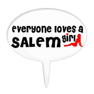 Everyone loves a Salem MA girl Cake Picks