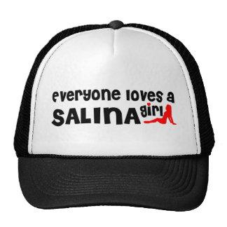 Everyone loves a Salina girl Trucker Hat