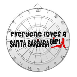 Everyone loves a Santa Barbara girl Dart Boards