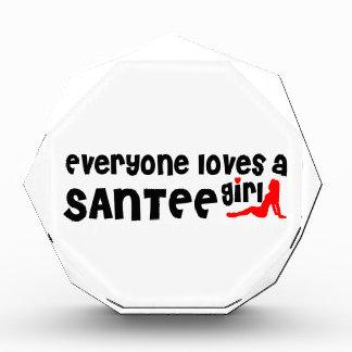 Everyone loves a Santee girl Award