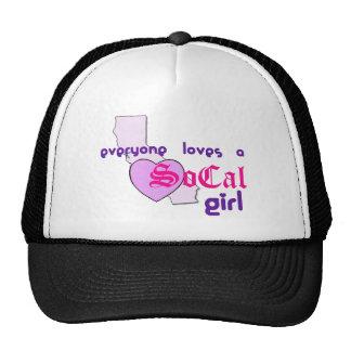 """Everyone loves a SoCal Girl"" Trucker Hat"