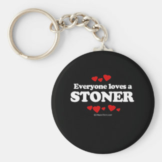 Everyone Loves a Stoner T-shirt Keychain