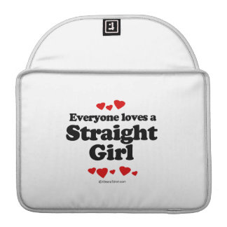 Everyone Loves a Straight Girl T-shirt Sleeves For MacBooks