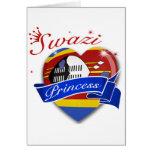 Everyone Loves A Swazi Princess Greeting Cards