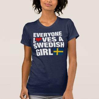 Everyone Loves a Swedish Girl T-Shirt