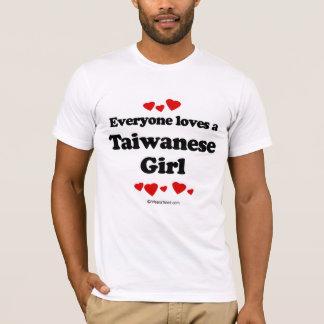 Everyone loves a Taiwanese girl T-Shirt