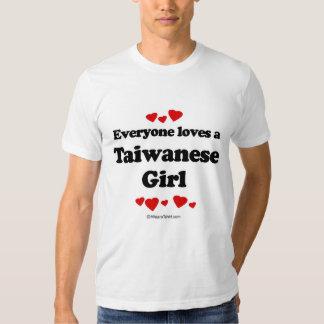 Everyone loves a Taiwanese girl Tee Shirt