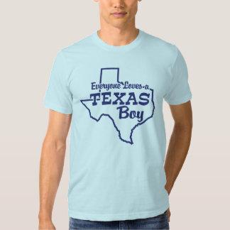 Everyone Loves a Texas Boy Tee Shirt