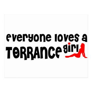 Everyone loves a Torrance girl Postcard