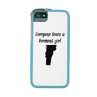 Everyone Loves A Vermont Girl iPhone 5/5S Cover