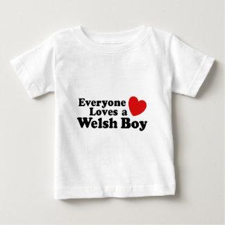 Everyone Loves A Welsh Boy Baby T-Shirt