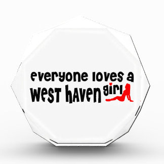 Everyone loves a West Haven girl Award