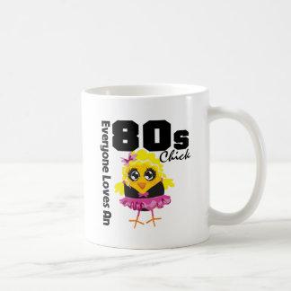 Everyone Loves An 80s Chick Classic White Coffee Mug