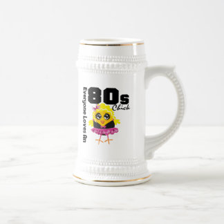 Everyone Loves An 80s Chick Mugs