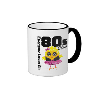 Everyone Loves An 80s Chick Ringer Coffee Mug