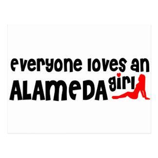 Everyone loves an Alameda girl Postcard