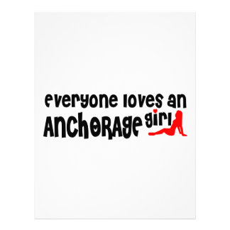Everyone loves an Anchorage girl Letterhead