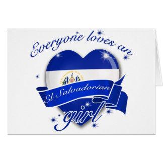 Everyone Loves An El salvadorian Girl Card