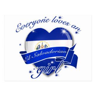 Everyone Loves An El salvadorian Girl Postcard