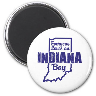 Everyone Loves an Indiana Boy Magnet