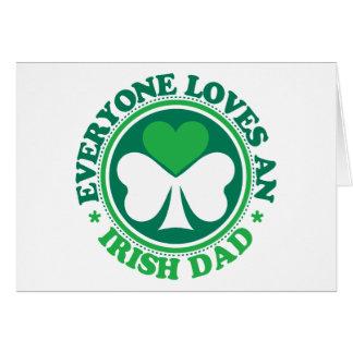 Everyone Loves an Irish Dad Card