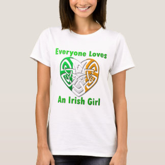 Asian everyone girl love shirt t