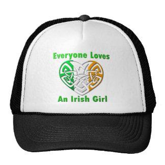 Everyone Loves An Irish Girl Trucker Hat