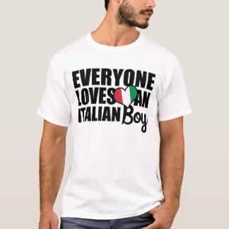 Everyone Loves an Italian Boy T-Shirt