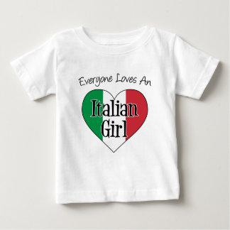 Everyone Loves An Italian Girl Baby T-Shirt