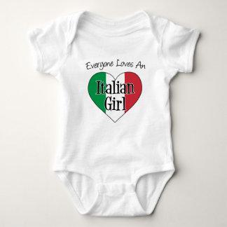 Everyone Loves An Italian Girl Tee Shirt