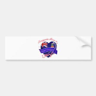 Everyone loves Cayman island girl Bumper Stickers