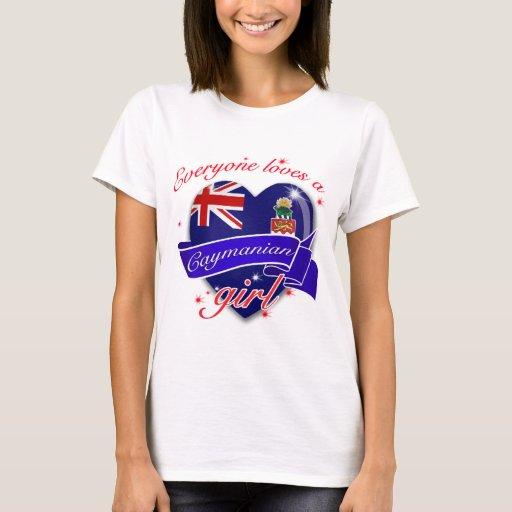 Everyone loves Cayman island girl T-Shirt