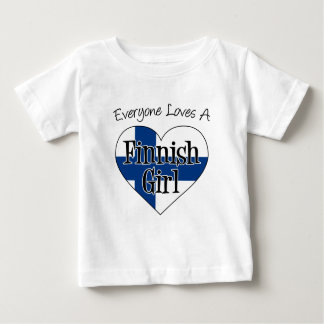 Everyone Loves Finnish Girl T-shirt