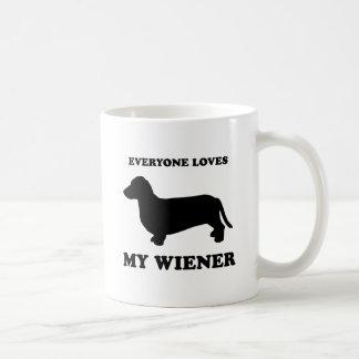Everyone loves my wiener coffee mug