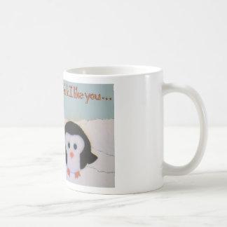 Everyone loves penguins! coffee mug