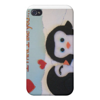 Everyone loves penguins! iPhone 4/4S case