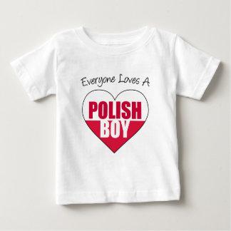 Everyone Loves Polish Boy Infant T-shirt