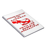 Everyone Makes Fun Of The Redneck Until The Zombie Spiral Note Book