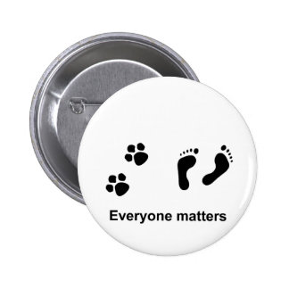 Everyone matters 2 inch round button