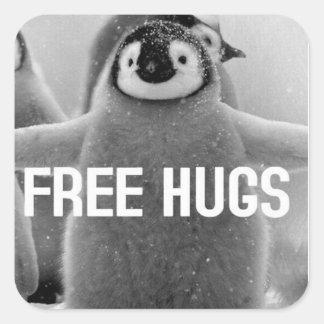 Everyone Needs a Hug Square Sticker