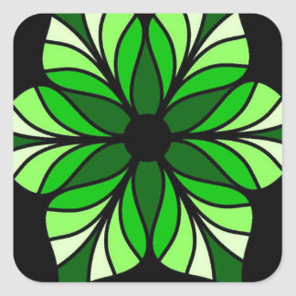 Everyone Needs a Little Green in their Lives Square Sticker