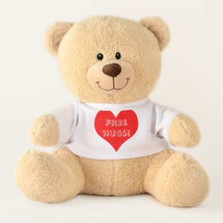 Everyone needs hugs! Share them freely and often! Teddy Bear