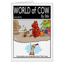 Everyone Remembers Their First Cow Card